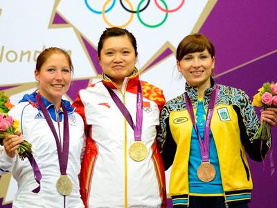 Костевич завоевала первую медаль для Украины в Лондоне
