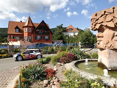 Обзор субботы Ралли Франции WRC-2012