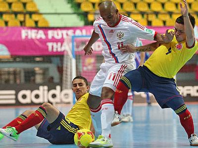 Россия — Колумбия — 2:0