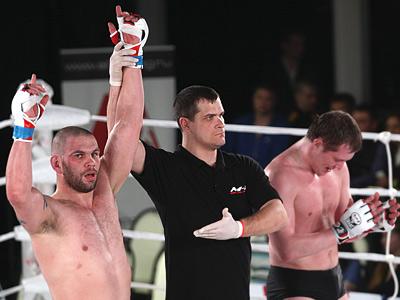 Состоялись отборочные бои на реалити-шоу «M-1 Fighter»