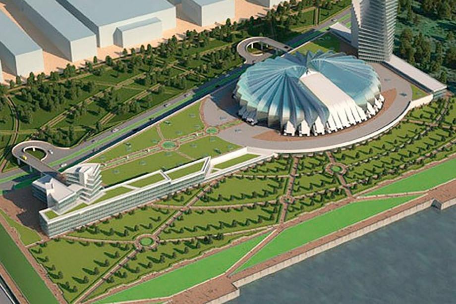 В России появится новая хоккейная арена. Но не в Омске