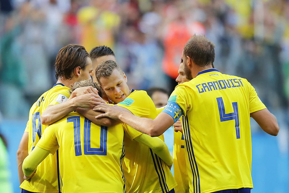 Швеция — Швейцария — 1:0
