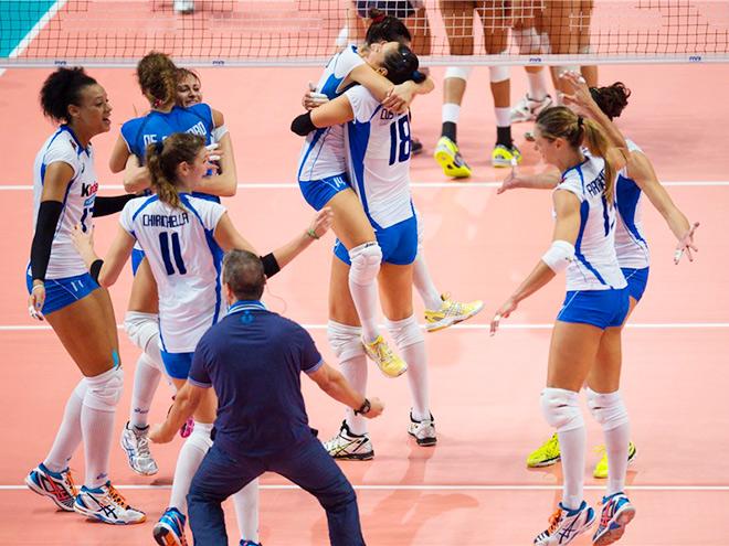 Волейбол. Чемпионат мира. Итоги третьего раунда