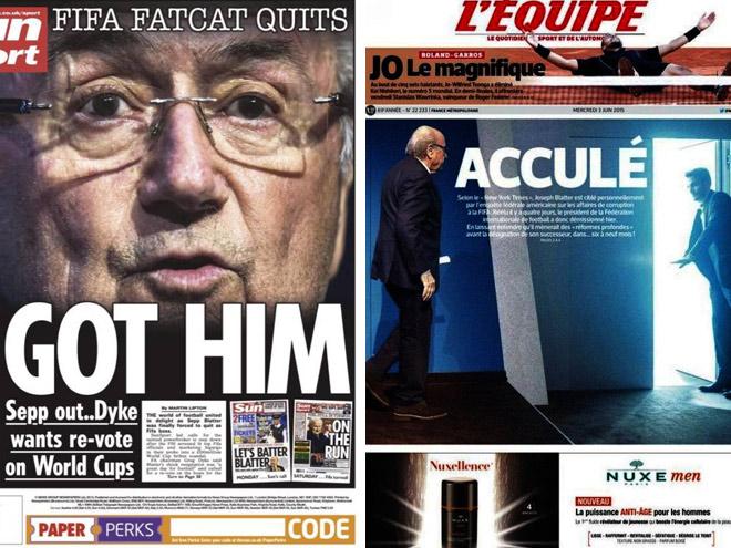Мировая пресса – об отставке Зеппа Блаттера