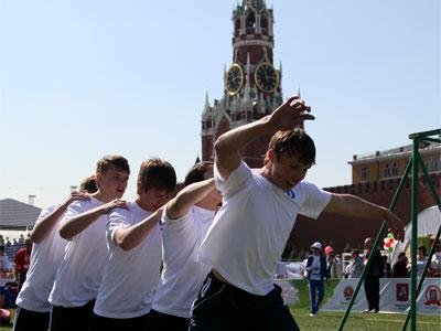 Спорт с видом на Кремль