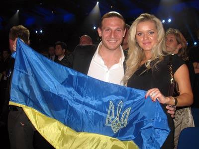 Игроки сборной Украины на первый сбор отправились с жёнами