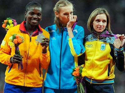 Ольга Саладуха стала третьей в тройном прыжке