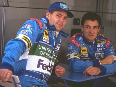 История взаимоотношений напарников в Формуле-1