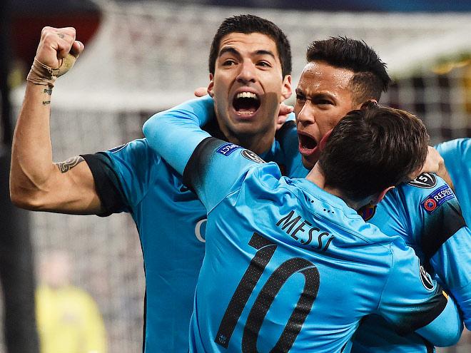 8 лучших голов 1/8 финала Лиги чемпионов – Месси, Роналду и другие