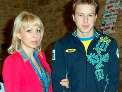 Украинских олимпийцев в Лондоне поддерживали родные