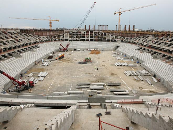 Скоро у «Краснодара» будет стадион