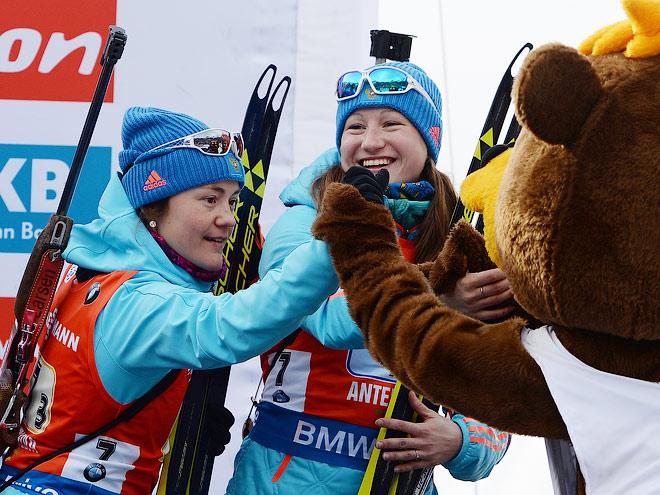 Женская сборная России по биатлону на ЧМ-2016