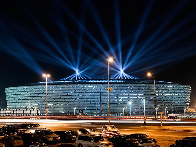 Европейские игры. Церемония открытия 12 июня