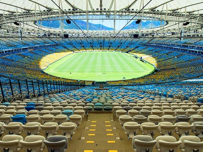 Бразильские арены, на которых сыграет Россия