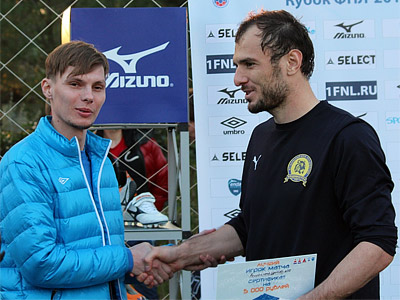 Шамиль Асильдаров получает приз