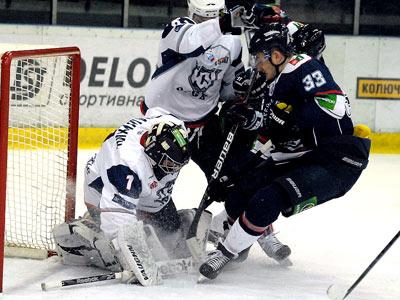 «Южный Урал» прервал победную серию в Сарове
