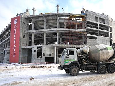 Презентация будущей арены московского «Спартака»