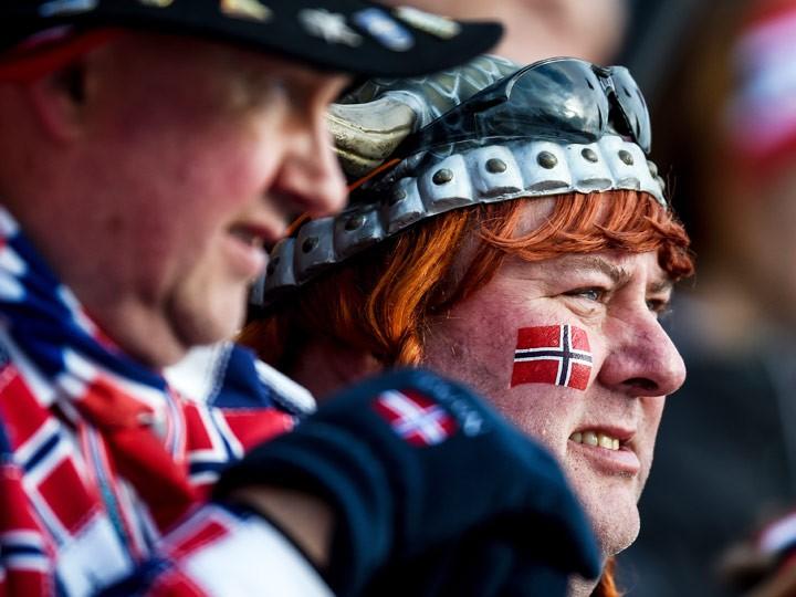 Как Норвегия смотрит последний этап Кубка мира по биатлону