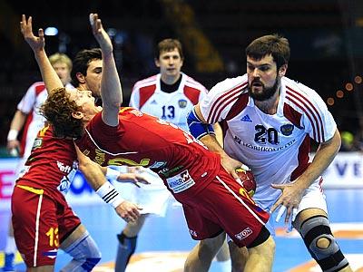 Гандбол. Россия сыграла вничью с Македонией 29:29