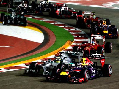 Оценки пилотам за Гран-при Сингапура Формулы-1