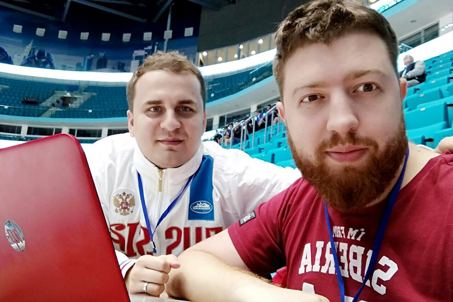 Павел Панышев и Дмитрий Ерыкалов