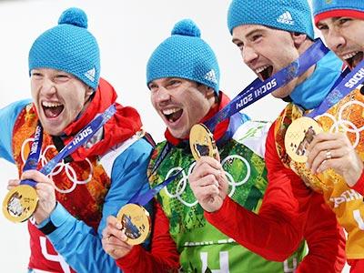 Победная российская биатлонная четвёрка