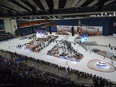 Обзор эстафеты Гонки чемпионов-2013