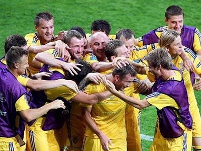 Тимощук и Воронин - о матче против Швеции