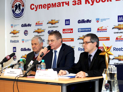 Пресс-конференция перед матчем за Кубок Вызова