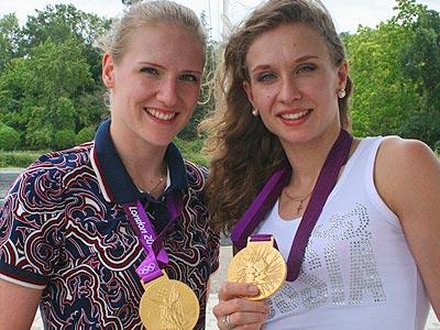 Лондон-2012. Светлана Ромашина и Наталья Ищенко