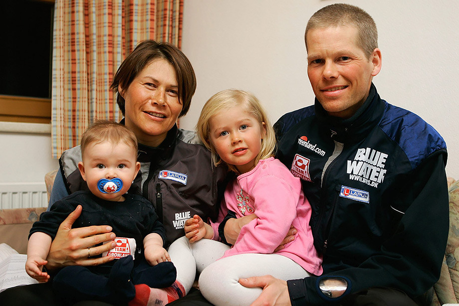 Эйстейн Слеттемарк с семьей (2005 год)