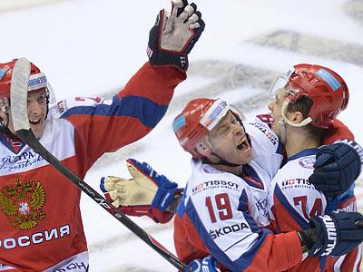 Лучшая четвёрка россиян в матче со Швецией