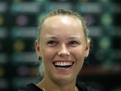 Каролина Возняцки - о победе над Сереной Уильямс на турнире в Майами