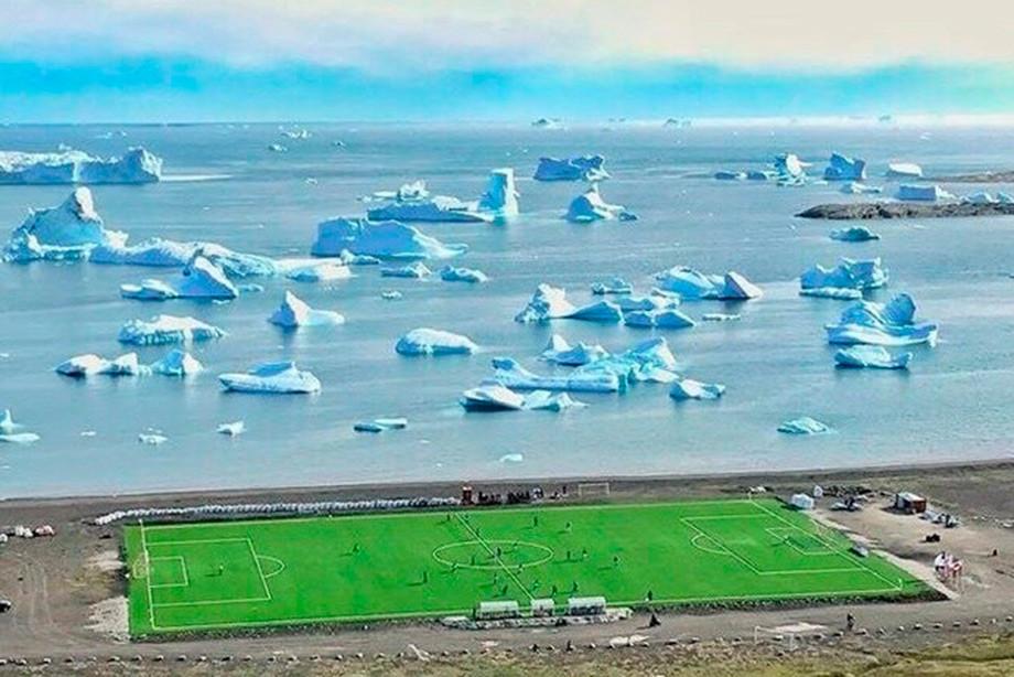 Играют ли в футбол в Гренландии?