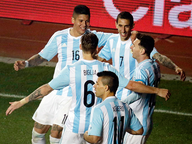 Аргентина – Парагвай. Обзор матча – 6:1