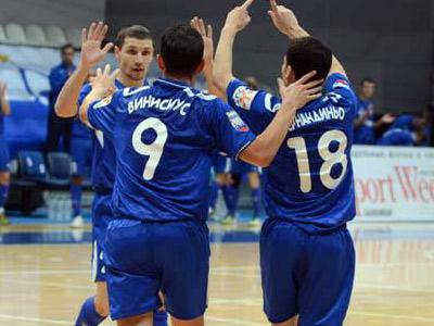 «Динамо» уничтожило «Политех» в 16-м туре футзальной Суперлиги