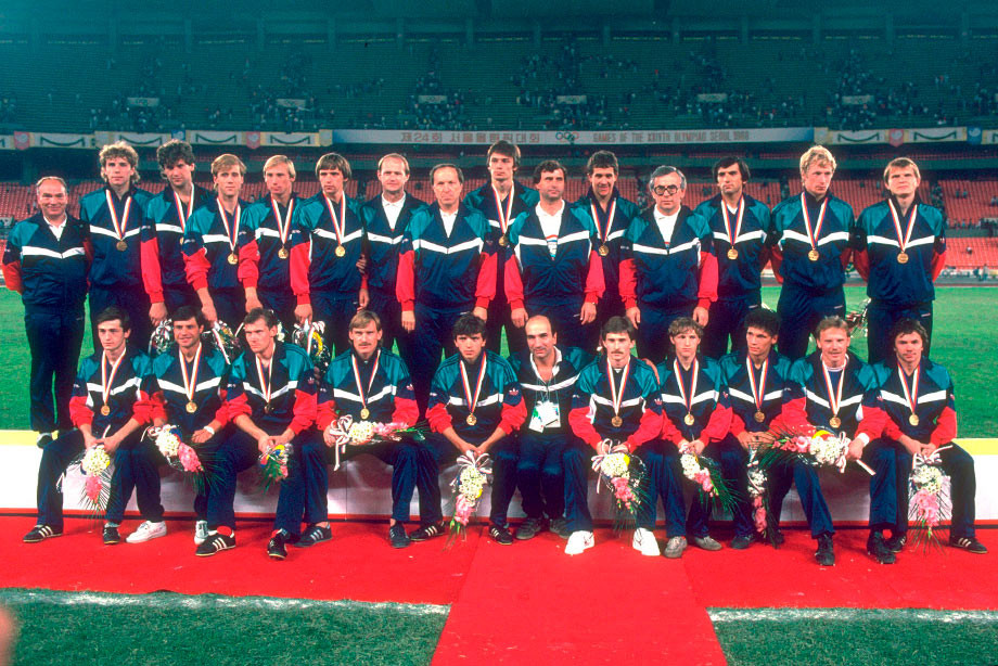 Сборная СССР — чемпион Олимпиады-1988