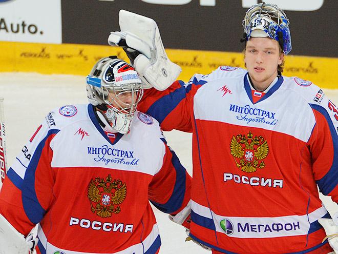 Антон Худобин и Андрей Василевский