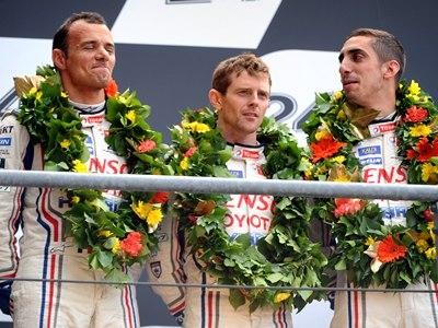 Гонщики Формулы-1 на «24 часах Ле-Мана»