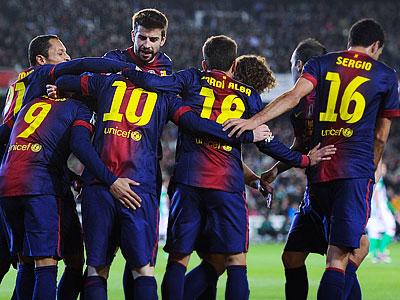 «Барселона» уже на 13 очков опережает «Реал»