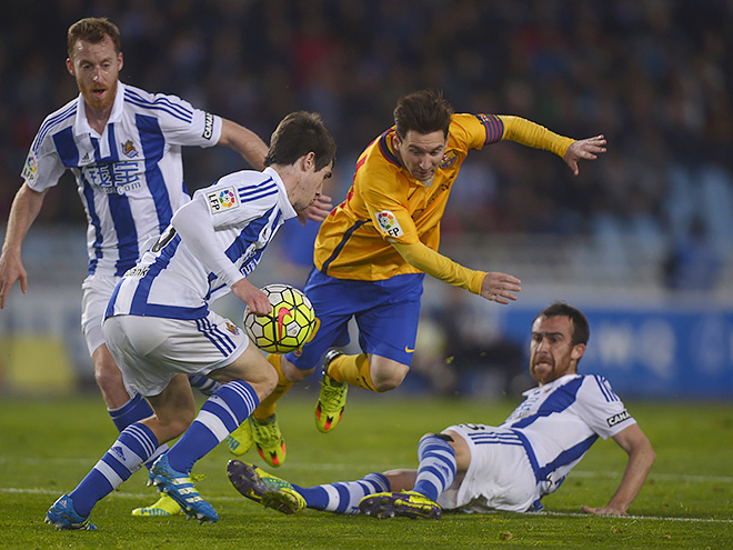 «Барселона» проиграла «Реал Сосьедаду»