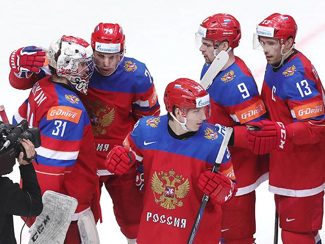 Дацюк, Панарин, Сорокин – о победе России над Норвегией