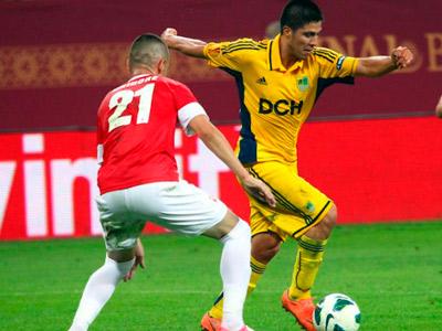 «Металлист» в первом матче плей-офф раунда ЛЕ обыграл «Динамо»