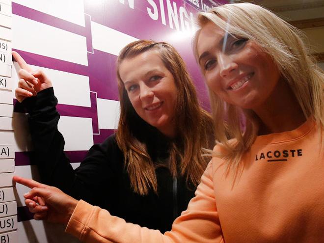Состоялась жеребьёвка турнира WTA в Санкт-Петербурге