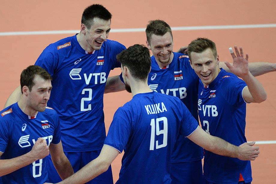 Сборная Российской Федерации  выиграла 2-й матч наЧЕ вПольше