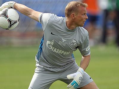 22 июля Малафеев может сыграть 300-й матч в РФПЛ
