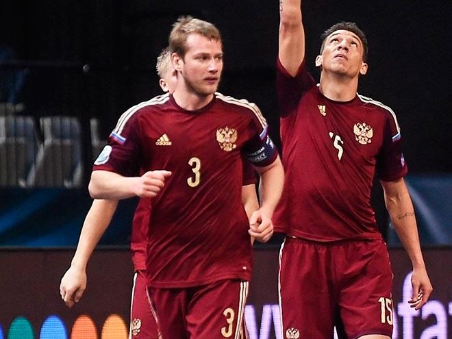 Мини-футбол. Россия обыграла Казахстан на чемпионате Европы – 2:1