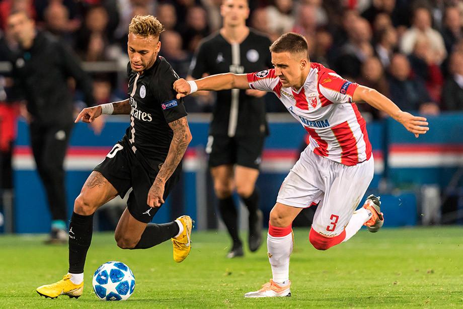 ВУЕФА подозревают, что матч ПСЖ— Црвена Звезда был договорным