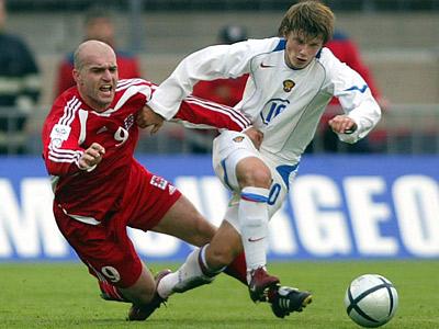 Люксембург — Россия. 2004 год. Андрей Аршавин