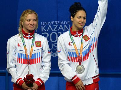 Наталья Гончарова и Юлия Колтунова